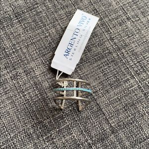 Argento Vivo Sterling Silver Ring